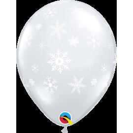 Snowflakes & Sparkles-A-Round - Diamond Clear