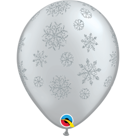 Glitter Snowflakes-A-Round