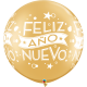 """Feliz Año Nuevo 30"""" Gold 2ct"""