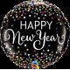 """18"""" New Year Confetti (Minimo 3 Unid)"""