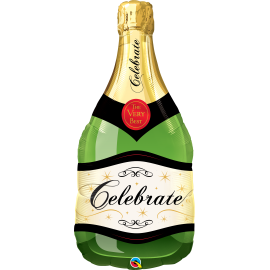 Celebrate Bubbly Wine Bottle SW