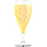 "39"" Bubbly Wine Glass (Minimo 3 unid)"