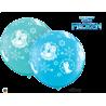 Anna, Elsa & Olaf- A- Round (Surtido Caribbean Blue & Robin´s Egg) 3`(2ct)
