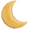 Crescent Moon Metallic Gold