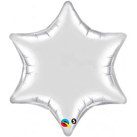 Estrella de 6 puntas Silver