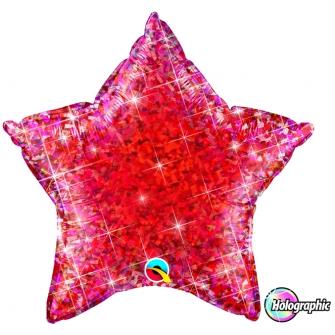 Estrella Holografic Jewel Red