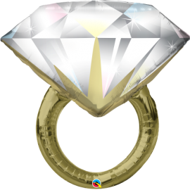 "37"" Diamond Wedding Ring (Minimo 3 Unid)"