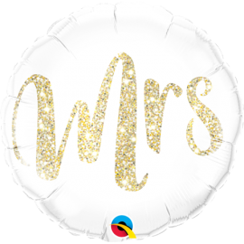 "18"" Mrs. Glitter Gold (Minimo 3 unid)"