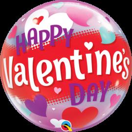 "22"" Happy Valentinés Day Hearts (Minimo 3 Unid)"
