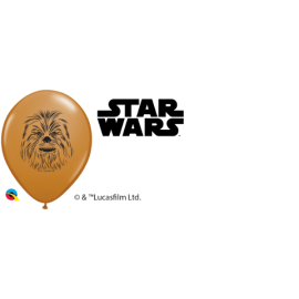 "5"" Chewbacca Face (100 unid ) Mocha Brown"