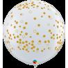3`Confetti Dots-A- Round / Diamond Clear (2 Unid)