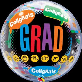 """22"""" Happy Graduation Congrats Grad (Minimo 3 Unid)"""