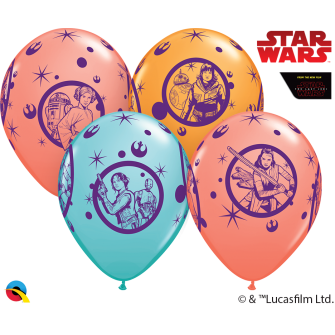 """11"""" Star Wars: Leia, Rey, jym .... (25unid)"""