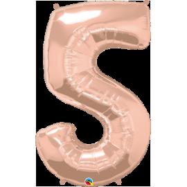 Number Five - Rose Gold (1 Unid)
