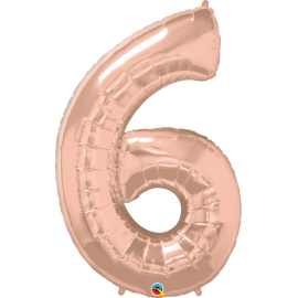 Number Six - Rose Gold (1 Unid)