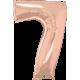 Number Seven - Rose Gold (1 Unid)