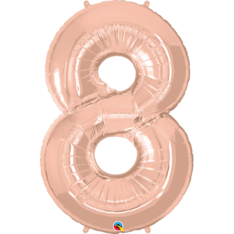 Number Eight - Rose Gold (1 Unid)