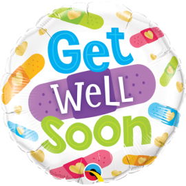 "18"" Get Well Soon Bandages (Minimo 3 Unid)"