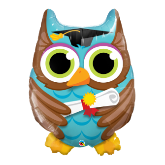 "34"" Graduate Owl (Minimo 3 Unid)"
