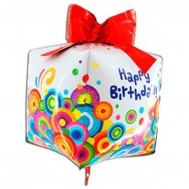 """30"""" Happy Birthday 4D"""