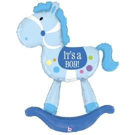 5`Caballito Bebe Azul (Minimo 3 Unidades)