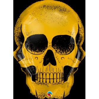 """36"""" Golden Skull (Minimo 3 Unid)"""
