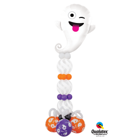 "11"" Emoticon Ghost (25 Unid) Surtidos"