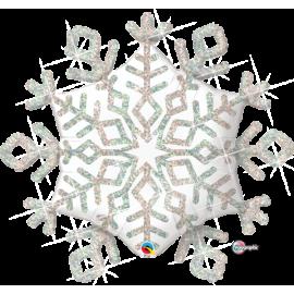 """40"""" Sparkle Snowflake (Minimo 3 Unid)"""