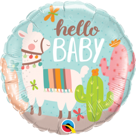 """18"""" Hello Baby LLama (Minimo 3 Unid)"""