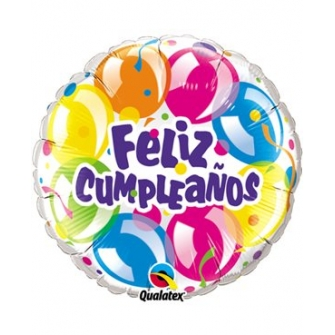 Feliz Cumpleaños Globos