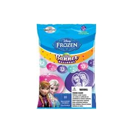 "12"" Disney Frozen (Q-Link) 10ct"