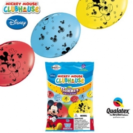 """12"""" Mickey Mouse (Q-Link) 10ct"""