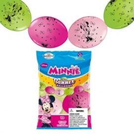 """12"""" Minnie Mouse (Q-Link) 10ct"""