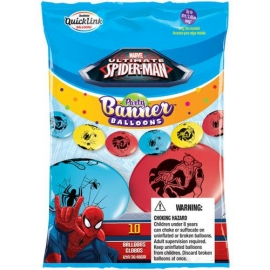 """12"""" Spider-Man (Q-Link) 10ct"""