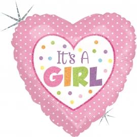 """9"""" Baby Girl Dots (Minimo 5 Unidades)"""