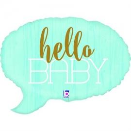 "24"" Hello Baby -Blue (Minimo 3 Unid)"