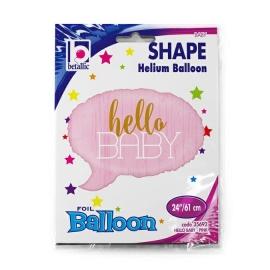 "24"" Hello Baby- Pink (Minimo 3 Unid)"