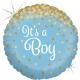 "18"" Glittering It´s a Boy (Minimo 3 unid)"