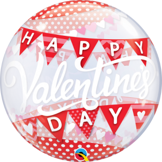 """22"""" Valentinne´s Day Banners (Minimo 3 Unid)"""