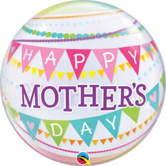 """22"""" Mother´s Day Pennants (Minimo 3 Unid)"""