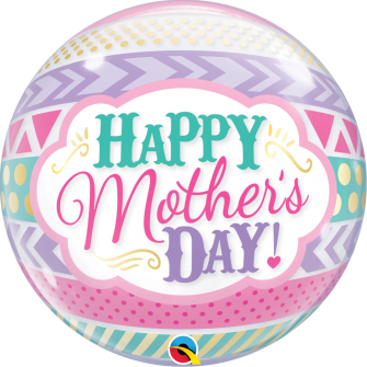 """22"""" Mother´s Day Dots & Stripes (Minimo 3 Unid)"""