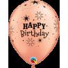 """11"""" Birthday Sparkle 6 unid (36 unid)"""