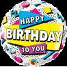 "18"" Happy Birthday To you 90´s Retro (minimo 3 unid)"
