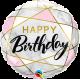"18"" Birthday Marble Rectangles (minimo 3 unid)"
