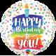 "9""Birthday to you (Minimo 5 unid) Air-Fill (Termosellado aire)"