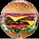 "9"" Cheeseburger (Minimo 5 unid) Air-Fill (Termosellado aire)"