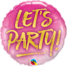 """9"""" Let´s Party (Minimo 5 unid) Air-Fill (Termosellado aire)"""