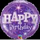 """9"""" Birthday Purple (Minimo 5 unid) Air-Fill (Termosellado aire)"""