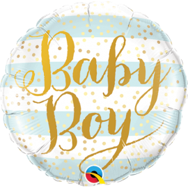 "9"" Baby Boy (Minimo 5 unid) Air-Fill (Termosellado aire)"