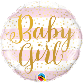 "9"" BabyGirl (Minimo 5 unid) Air-Fill (Termosellado aire)"